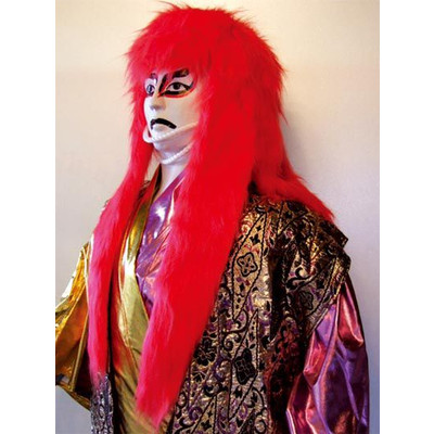 Kabuki wig, Shishige, Japanese Lion Hair, Red hair