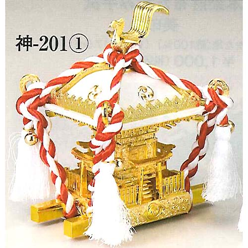 figurine of Mikoshi, Omikoshi, white