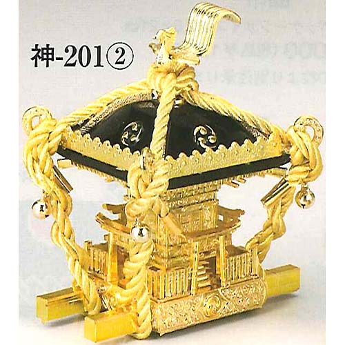 figurine of Mikoshi, Omikoshi, black