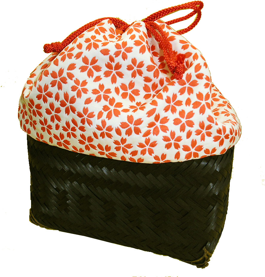 Maiko basket Small, orange