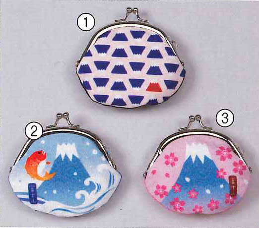 Coin purse, Fujisan , Mount Fuji