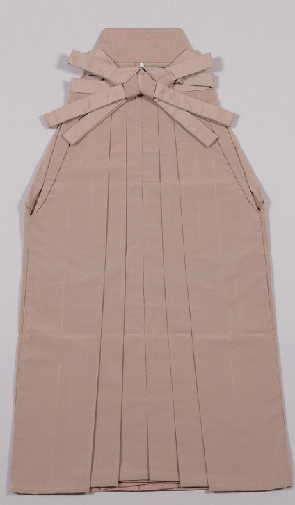 Plain Hakama Solid color Hakama, beige