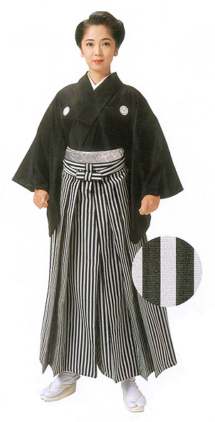 Sendaihira Striped Hakama (wider stripe)