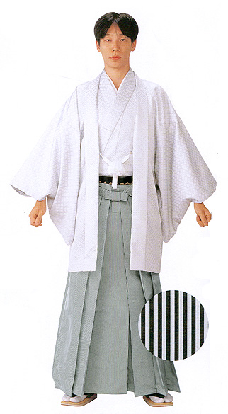Sendaihira Striped Hakama (Thinner or narrower stripe)