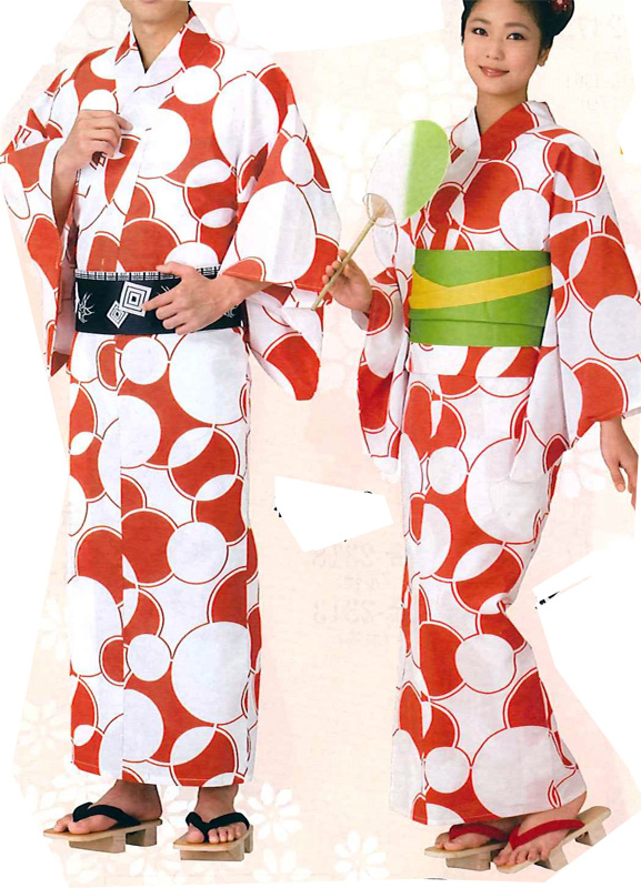 Matching Yukata WA, Ring, Circle