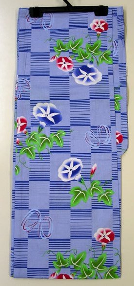 Less Expensive Yukata Robe Cotton , Morning Glory