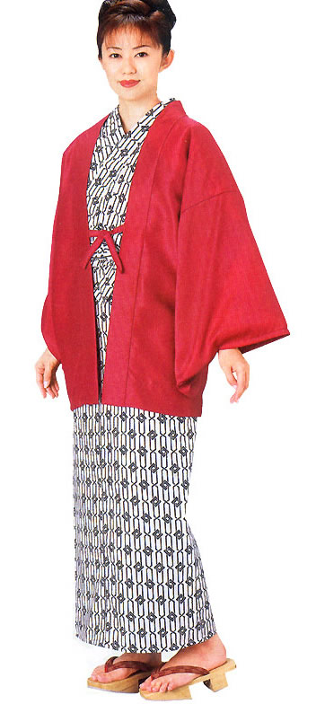 "Bathrobe Yukata , Yukata Robe ""Chains with locks"""