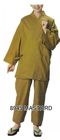 Samue , Lounger suits (Unisex) Mustard