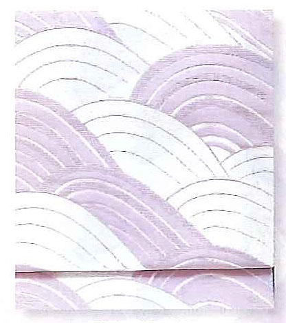 Nagoya Obi for Otaiko box tyeing, Mauve, pale purple