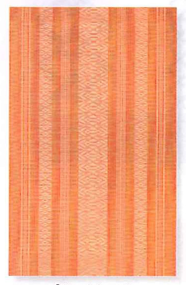 Summer Obi for Otaiko box tyeing Orange