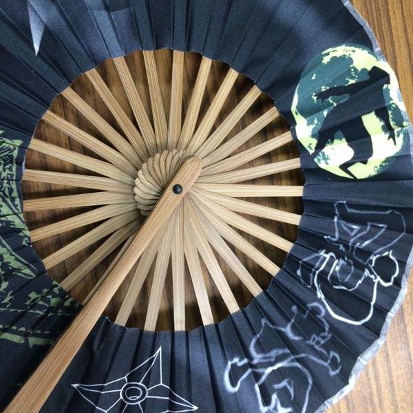 Silk Fan | Round Fan, fold-able Uchiwa