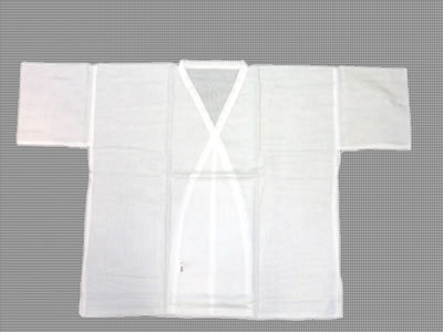 Hada-Juban (Hadagi) for men, white collar
